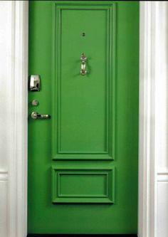 I should paint my front door green  :D