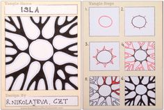 My Tangle Patterns — Мои танглы   Dots - Lines - Patterns