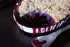 Grain-free Berry Cobbler – Gluten-free, Vegan + Refined Sugar-free A week or two ago, I came across this amazing grain-free thick pizza crust recipe from Real Sustenance and it instantly peaked my . Gluten Free Sweets, Paleo Sweets, Paleo Dessert, Gluten Free Baking, Healthy Desserts, Gluten Free Recipes, Delicious Desserts, Dessert Recipes, Fudge