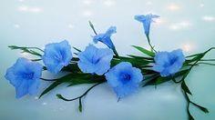 cómo hacer flores de papel crepé - Flor de papel muy Fácil Beauti Beauti - YouTube