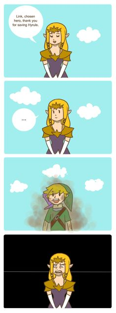 Why Zelda Never Kisses Link. by cookiekween.deviantart.com on @deviantART (HAHAHA, oh my word, *facepalm*)