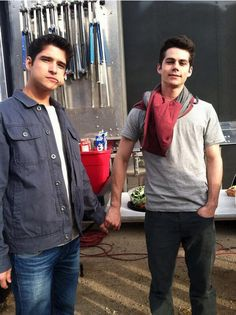 """""""In real life, we're more bromantic I'd say. It's like were literally a married couple kind of."""" -Dylan"""