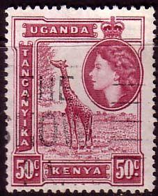 Postage Stamps Kenya Uganda Tanganyka 1954 Animals SG 173 Fine Used Scott 110 For Sale Take a look