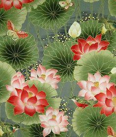 lotuses Lotus Painting, Mural Painting, Silk Painting, Lotus Flower Pictures, Flower Photos, Lotus Flowers, Japanese Painting, Chinese Painting, Japanese Lotus