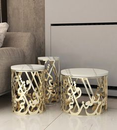 Kashida - Makarem Side Tables - Collections