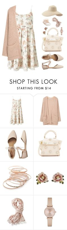 """""""bby pink"""" by regkelly ❤ liked on Polyvore featuring Miss Selfridge, MANGO, Gap, ZAC Zac Posen, Red Camel, Les Néréides, Mark & Graham, Emporio Armani and Eric Javits"""
