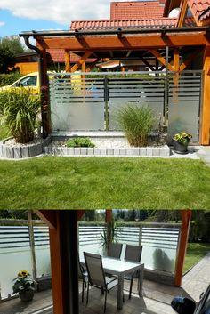 Mit einem Windschutz nach Maß können Sie Ihre Terrasse in vollen Zügen genießen. Carports, Pergola, Outdoor Structures, Outdoor Pergola