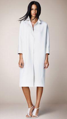 #Burberry Prorsum Womenswear Spring/Summer 2014 #DOUBLE CASHMERE CAPE COAT