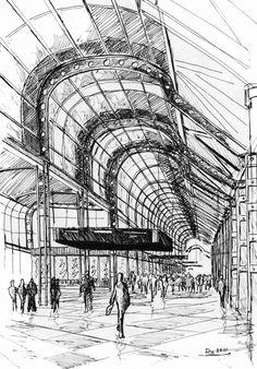 helmut jahn sketches - Szukaj w Google Architecture Sketches, Hand Sketch, Architectural Drawings, Sketching, Helmet, Inspire, Google, Inspiration, Design