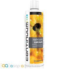 Continuum Aquatics Reef Basis Calcium 250 ml 8.5 oz Liquid Ionic Calcium