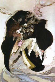 'Vampire Hunter D' by Amano Yoshitaka.