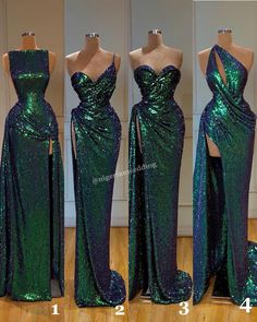 Mismatched Green Sequin Sparkly Shinning Cheap Modest Long Prom Dresses Source by otorucho dresses Gala Dresses, Event Dresses, Dinner Dresses, Cocktail Dresses, Formal Dresses, Wedding Dresses, Pretty Dresses, Sexy Dresses, Fashion Dresses