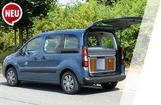 ...zur Detailansicht des Minicampers Citroën Berlingo Active