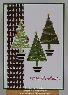 Yellowbear Stampin: Festival of Trees - part one
