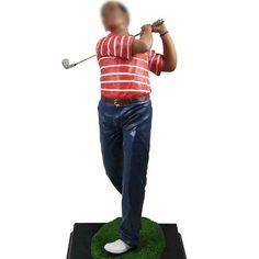 Custom Golf Bobble Heads 12 Inch, buy Custom Golf Bobble Heads 12 Inch - likenessme.com Hole In One, Play Golf, Bobble Head, Different Styles, Big, Stuff To Buy