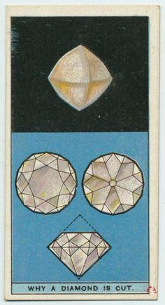 Why is a diamond cut?