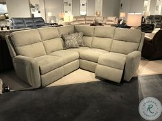 Savesto Ivory Small RAF Sectional from Ashley   Coleman Furniture Large Sectional, Reclining Sectional, Corner Sectional, Sectional Sofa, Sofa Furniture, Furniture Deals, Living Room Furniture, Types Of Sofas, New Beds