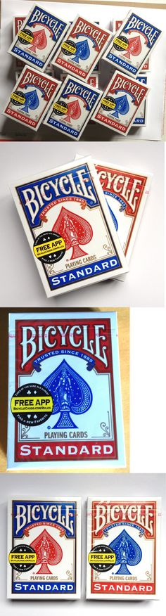 Playing Cards 166571: Lot Of 12 New Sealed Decks Of Bicycle Standard Poker Playing Cards 6-Red 6-Blue -> BUY IT NOW ONLY: $117.95 on eBay!