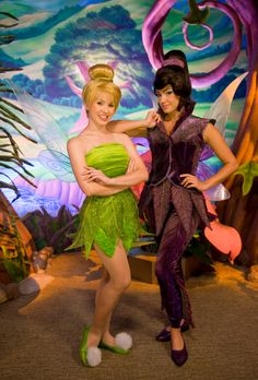 Disney Character Costume Will Tinker Bell be moving to the Town Square Theater? - Ladies and gents! Tinker Bell told me that she may be moving to the Town Square Theater. Disneyland Face Characters, Disney Characters Costumes, Disney World Characters, Walt Disney World, Tinkerbell And Friends, Disney Fairies, Disney Magic, Tinkerbell Fairies, Disney Disney