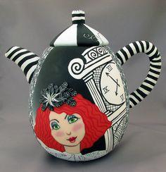Whimsical Teapot BY Wanda Designs