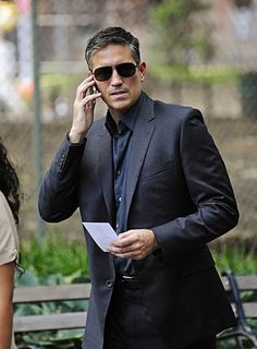 Jim Caviezel: He could speak up more. I need a new TV that can get CC in HD.