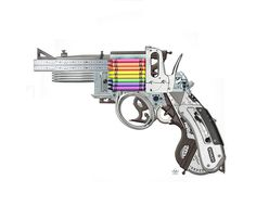 I love art that makes you look twice - Saatchi Online Artist: Mark Fitz; Saatchi Online, Gun Art, Typography, Lettering, Photo Manipulation, Love Art, Amazing Art, Weapons, Saatchi Art