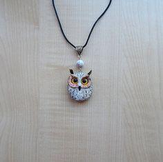 Eagle owl pendant  jewelry women's jewelry men от ViaLatteaArt