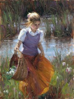 Bryce Liston, 1965 | Plein air / Figurative painter | Tutt'Art@ | Pittura • Scultura • Poesia • Musica
