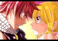 Natsu & Lucy ~ ok for real, at this point, Mashima- sensei is just playing with our emotions