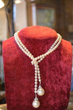 Antique 1920 s luxury pearl necklace by JeanneDanjouJewelry #luxuryjewelrypackaging