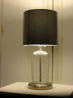Vintage Wiskey Bottle Lamp by benchmarklights on Etsy, $79.00