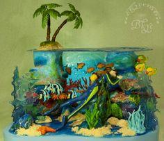 торт на тему подводной рыбалки: 20 тыс изображений найдено в Яндекс.Картинках