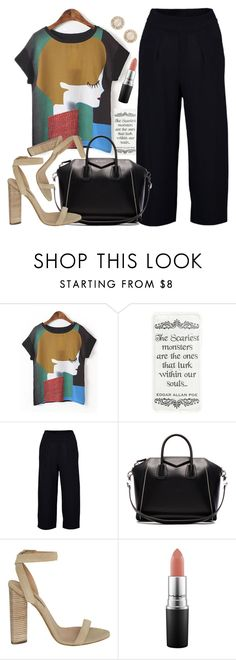 """""""Untitled #1714"""" by anarita11 ❤ liked on Polyvore featuring Givenchy, adidas Originals, MAC Cosmetics and Kate Spade"""