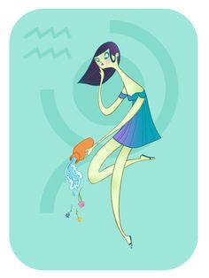 Zodiac: Aquarius by spicysteweddemon on deviantART