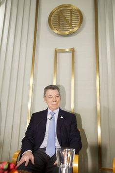 El mandatario durante una rueda de prensa en la sede del Instituto Nobel en Oslo, Noruega.