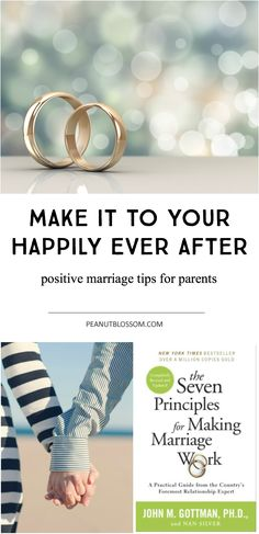 Marriage is hard work and everyone can use a little positive encouragement. When your happily ever after isn't feeling so happy, this advice is just right. Great tips for couples wanting to strengthen their relationship.