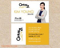 Century 21 Business Cards In 2018 Branding Pinterest Realtor