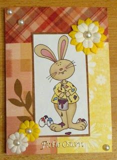 Free Dearie Dolls Digi Stamps: Easter card share from Theras....so cute!!!