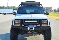 Jeep Xj Light Bar - Lighting is an essential part of your vehicle especially for night-time driving. Jeep Wrangler Lifted, Jeep Wrangler For Sale, Jeep 4x4, Jeep Truck, Lifted Jeeps, Jeep Cherokee Xj, Cherokee Laredo, Cherokee Nation, Jeep Xj Mods