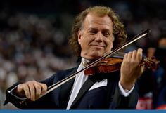 The Violin Channel recently caught up with Dutch violinist and Johann Strauss Orchestra founder, André Rieu - in Maastricht, Holland. Johann Strauss Orchestra, Christmas Shows, Dave Matthews Band, The Spectator, New Shows, Traveling By Yourself, Carnival, How To Memorize Things, Concert