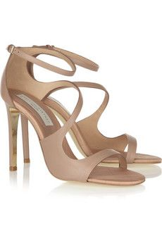 Stella McCartney Nude Sandals--possible option in the place of the Jimmy Choo's I'd really like to have :)