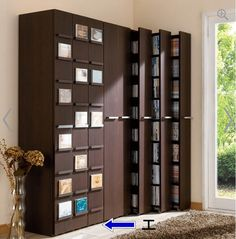 Some interesting space-saving ideas from Japanese architects, product and furniture designers, and DIYers to make your home more spacious. Space Saving Furniture, Home Decor Furniture, Furniture Makeover, Pipe Furniture, Furniture Design, Home Library Design, Tiny House Design, Garderobe Design, Japanese Home Design