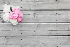 Styled Stock Photography // Pink and White Peony Wooden Background // Instant Download by WhiteTurquoiseCo on Etsy https://www.etsy.com/ca/listing/192594756/styled-stock-photography-pink-and-white
