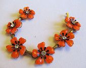 My Favorite Fall Combo - Orange and Black #vjse2 #vintage #jewelry #jewewellery