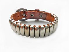 bangle buckle bracelet leather bracelet men by jewelrybraceletcuff, $9.00