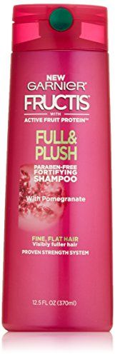 Garnier Hair Care Fructis Full and Plush Shampoo 125 Fluid Ounce * Find out more about the great product at the image link.Note:It is affiliate link to Amazon.