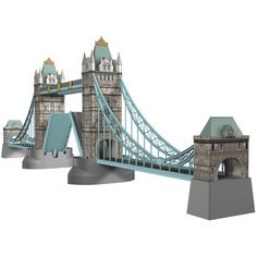 Ravensburger Tower Bridge of London, Jigsaw Puzzle® Jigsaw Puzzles For Kids, 3d Puzzles, Tower Bridge London, Puzzle Toys, Toys R Us, Toy Store, 3 D, Stuff To Buy, Shopping