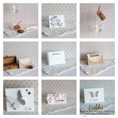 DIY Svadobné menovky na stôl / DIY Wedding place cards