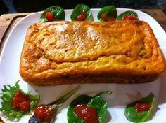 Cake au thon, tomate et olive - Recette de cuisine Marmiton : une recette