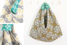 Für MyoStoffe durfte ich Kokka-Stoffe probenähen. Also sind drei Origami Bags entstanden. Ein ausführliches Tutorial dazu gibt's im Blog.